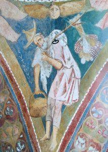 Autunno, Aula Gotica, Complesso dei SS. Quattro Coronati, Roma