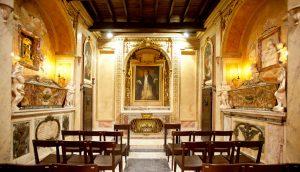 Palazzo di Santa Caterina, Cappella del Transito, Roma