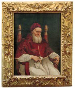 Raffaello e bottega, Ritratto di papa Giulio II