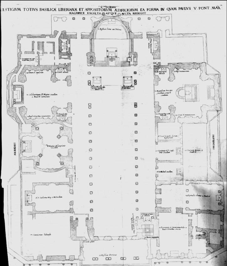 La Scala Elicoidale Di Bernini In Santa Maria Maggiore A Roma
