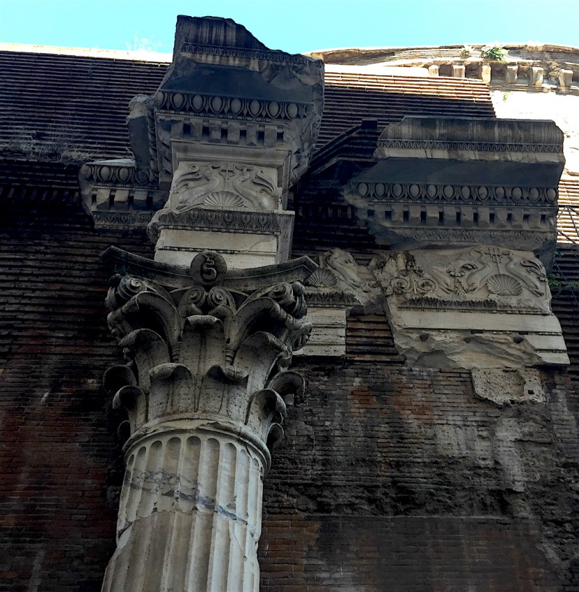 Il pantheon di roma altmarius - Da roma porta verso il mare ...